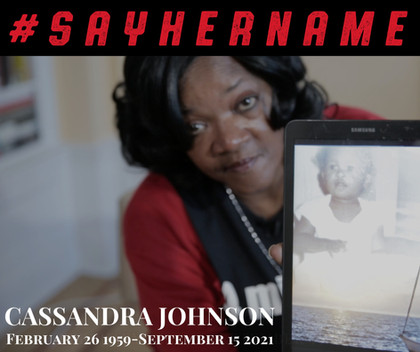 AAPF Mourns the Loss of Cassandra Johnson— #SayHerName Mothers Network