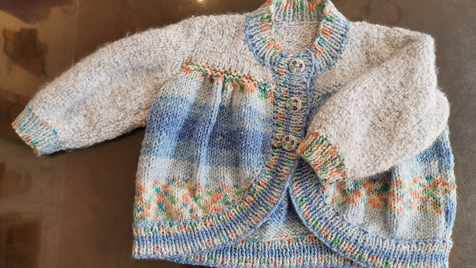 Baby Girls Cardie 0-6 months