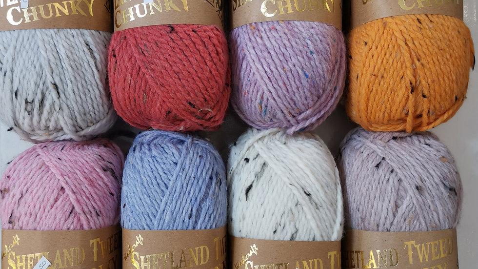 Woolcraft SHETLAND TWEED CHUNKY