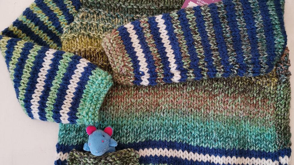 Fishermans Knit Boys Jumper . 2 Yrs