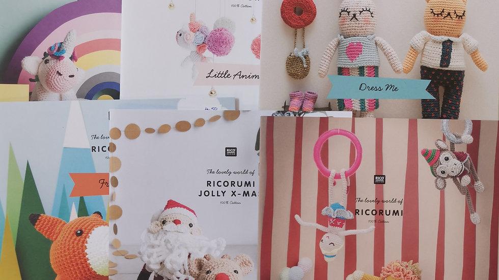 Rico RICORUMI cotton crochet books