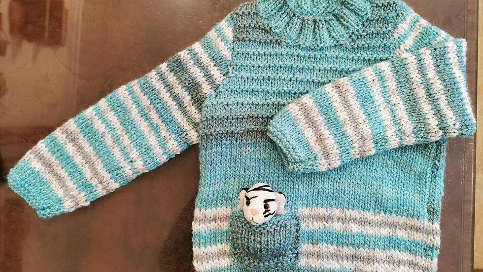 Unisex Fishermans sweater