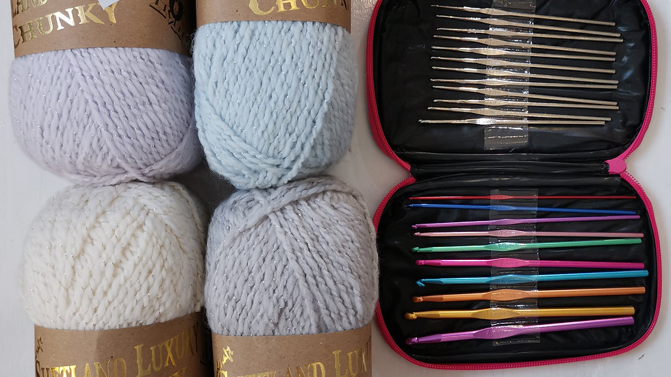 Woolcraft SHETLAND LUXURY chunky