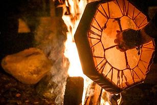 Kathy's Drum at fire.jpg
