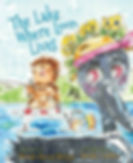 The Lake Where Loon Lives, by Brenda Reeves Sturgis, illustrated by Brooke Carlton