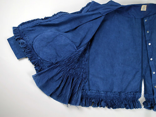 sei-ran 青藍 collection, kaku kaku jacket