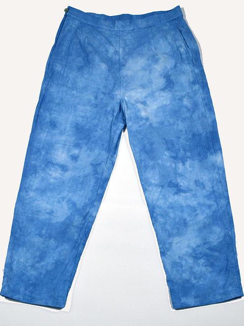 sei-ran 青藍 collection, kira trousers
