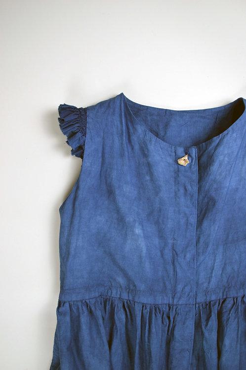 sei-ran青藍 fashion collection, sawa dress