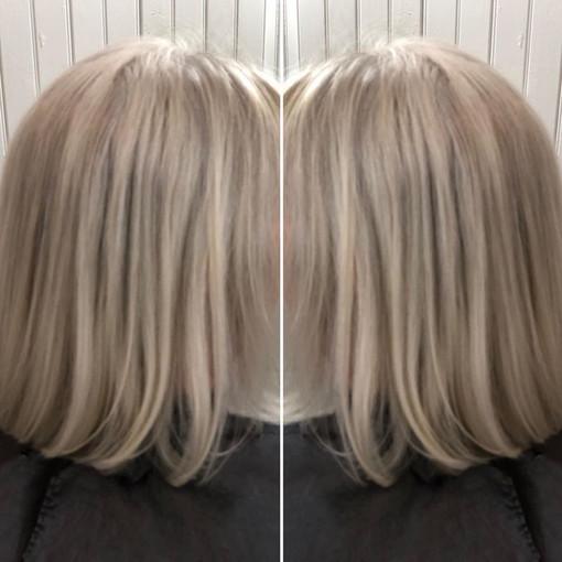Multi-toned blond bob rocks!