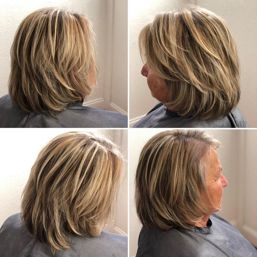 Highlights on a bob is a classic!