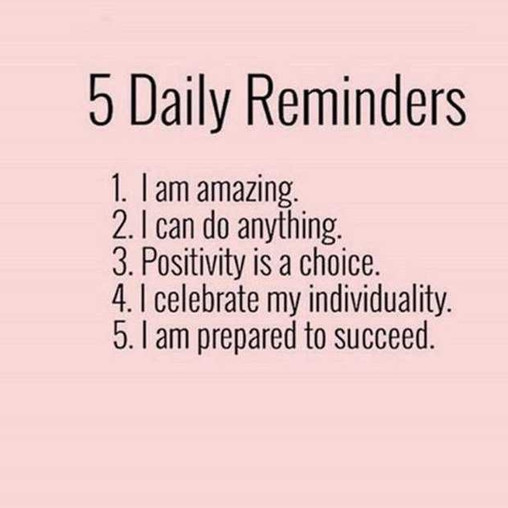 Daily Reminders!
