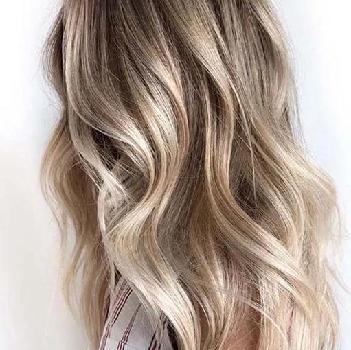 Blond on blond balayage.