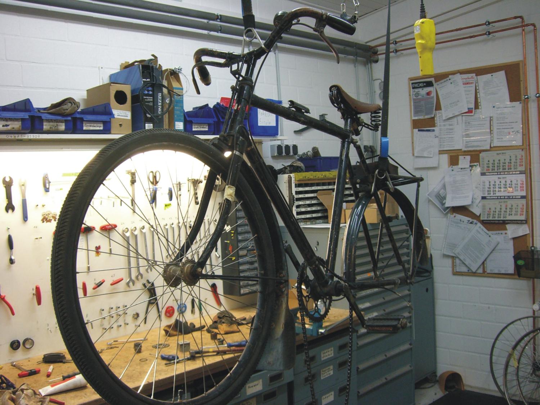 Bilder aus unserer Fahrradwerkstatt