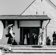 Zemmi The Bagpiper, Hochzeit in Rekingen