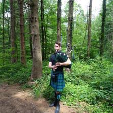 Zemmi The Bagpiper, Dättwiler Wald