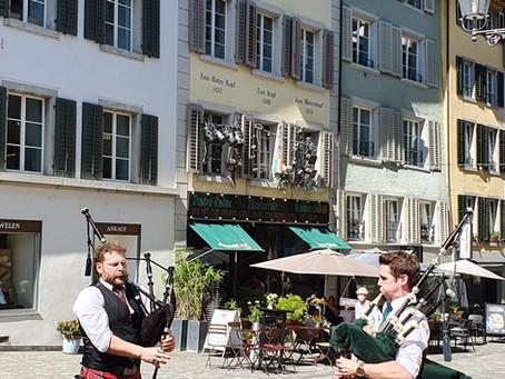 Strassenmusik in Bern und Baden, 10. Juli 2021