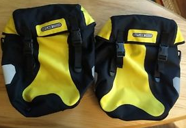 yellow panniers