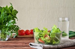 Repas cru hautement nutritif : un exemple