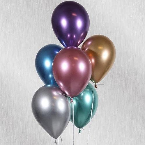 2 globos con helio