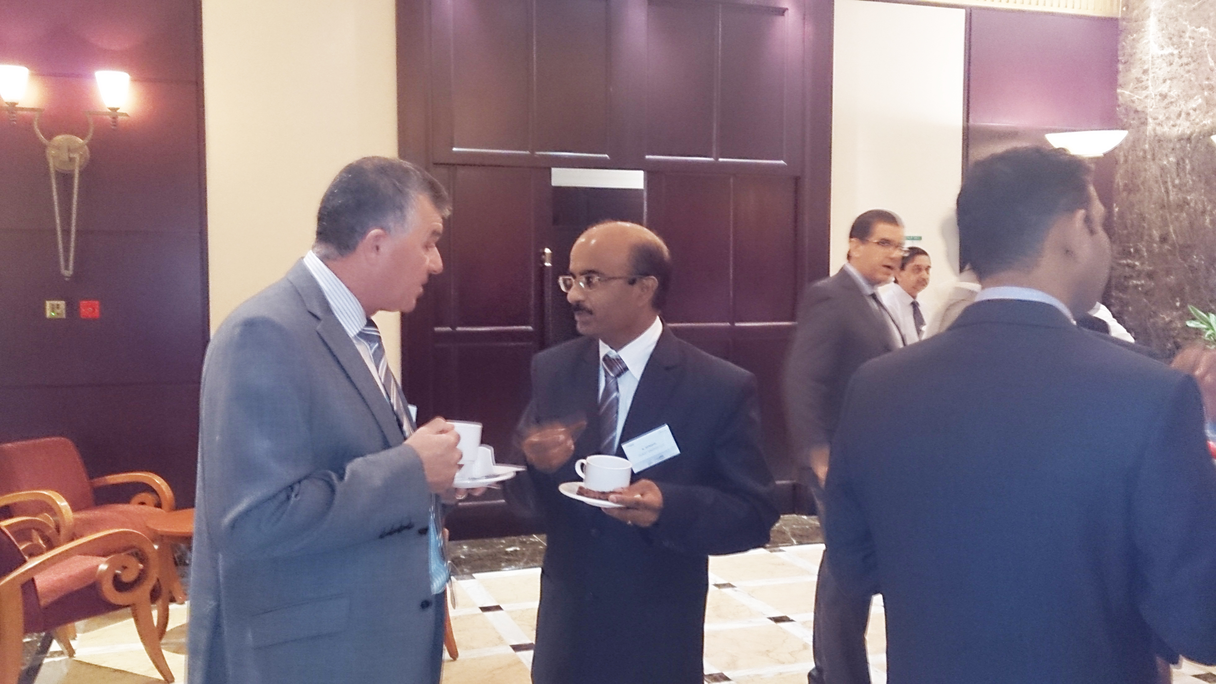 In Consultation with representative of varous rig owners company