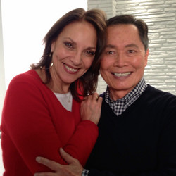 me with George Takei