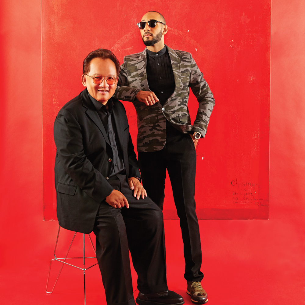 Monster CEO, Noel Lee & Swizz Beatz