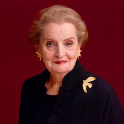 Mdme. Madeleine Albright