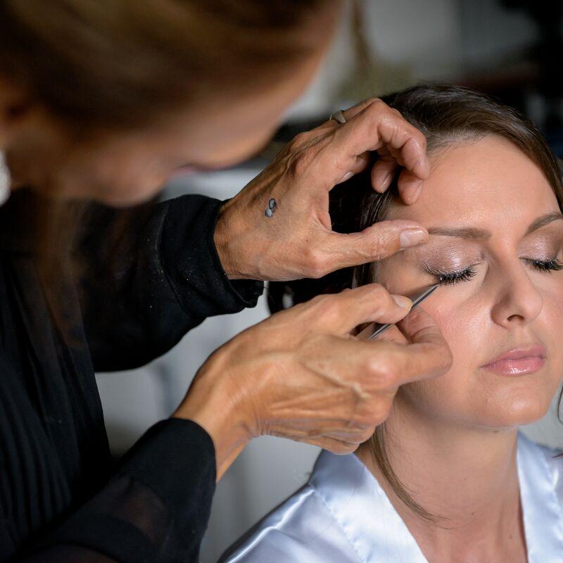 Individvual lashes are so natural