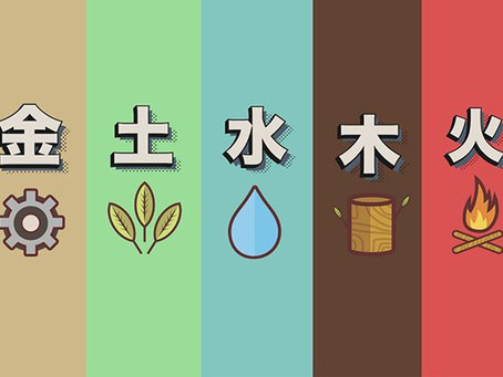 Teoria dos 5 movimentos (elementos) segundo Nagano