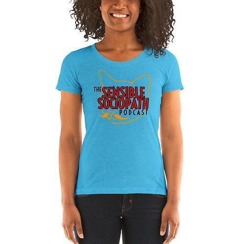 SenSoc Charlie Cat Ladies' short sleeve t-shirt