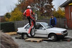 Skrotbiler kan også bruges til shows
