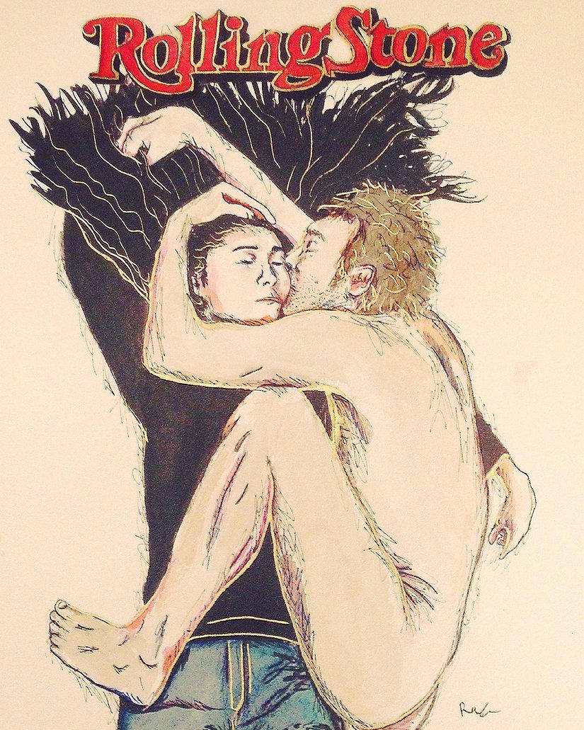 Rolling stone John and Yoko