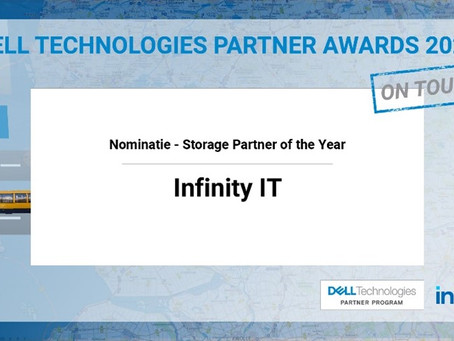 Infinity IT genomineerd voor de Dell Technologies Partner Awards 2020!
