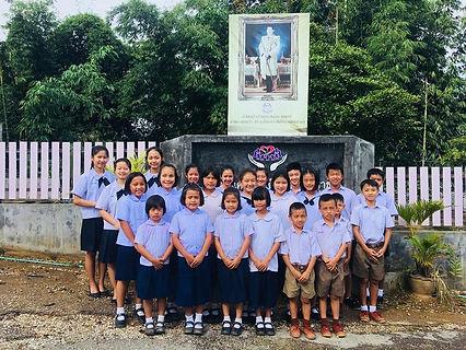 Kids at House Bethesda in school uniform
