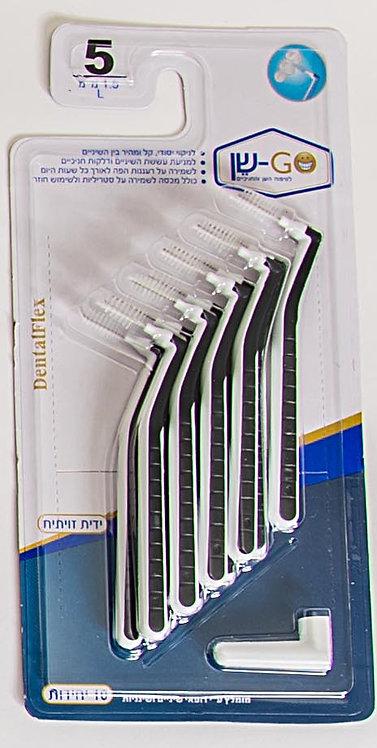 DentalFlex  mm 1.5  מידה 5 זווית