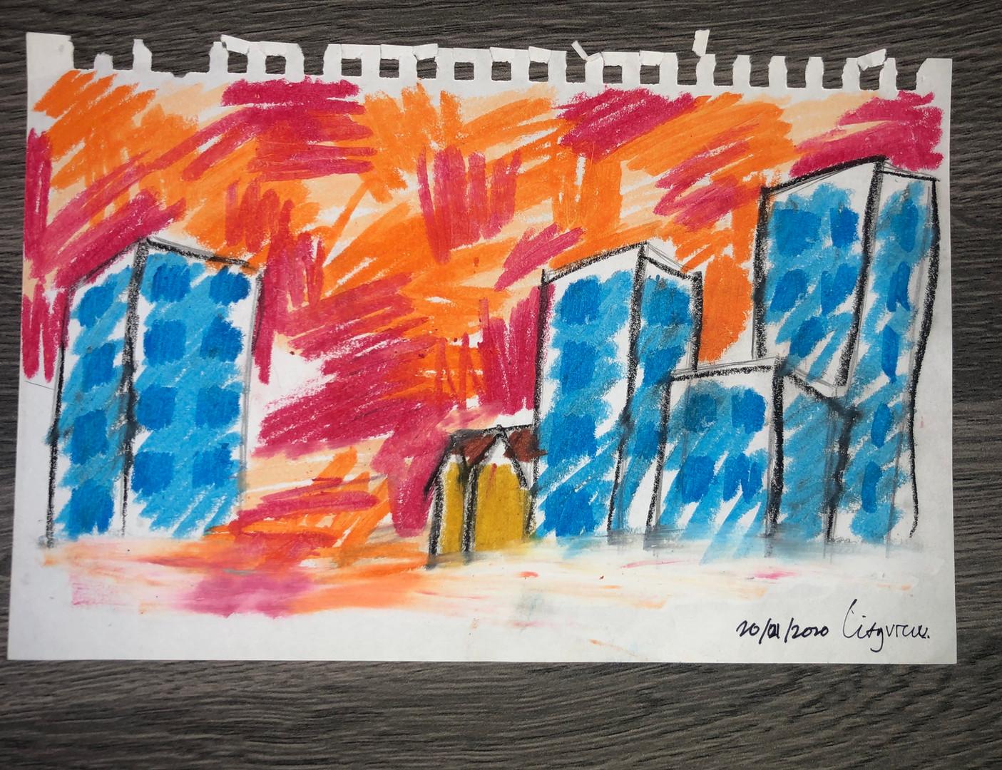 City Crayon