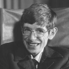 Stephen Hawking Smiling