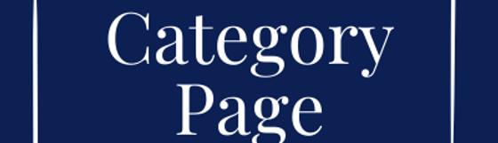 Website, Category Page, Sponsorships