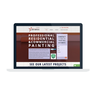 Star Painters Website Design