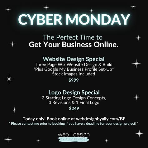 Cyber Monday Logo Deal