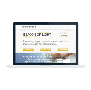 Beacon of Light Website Design