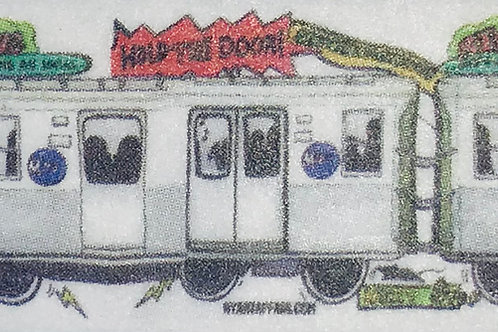 NYC Subway Washi Tape