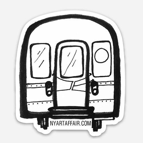 Midnight Train Sticker