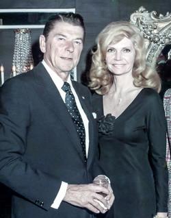 Ronald Reagan & Cindy