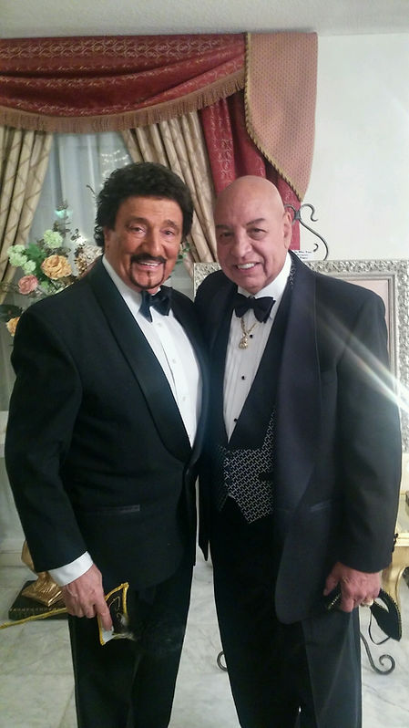 Dondino and boxing Joe Cortez American b