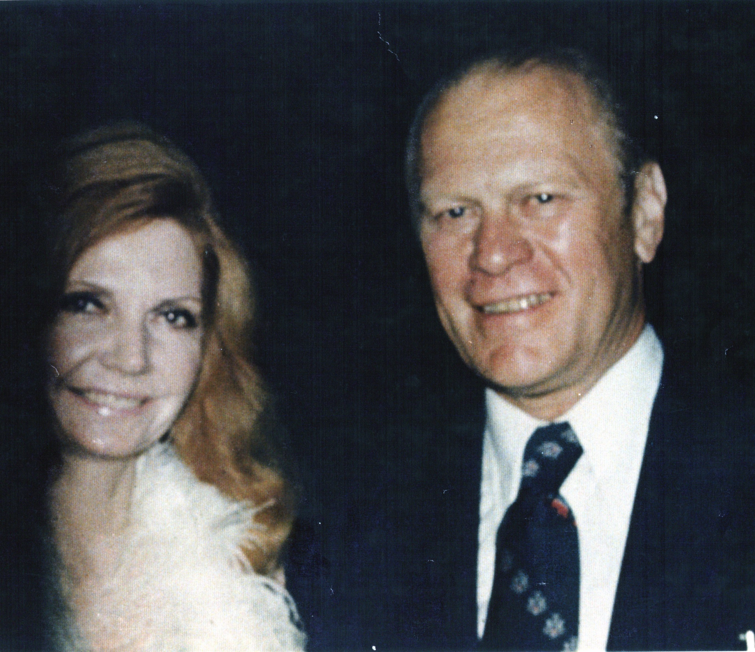 Gerald Ford & Cindy