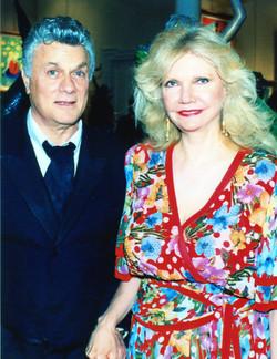 Tony Curtis & Cindy