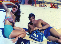 Actor Steve Cochran & Cindy - Hawaii_edited