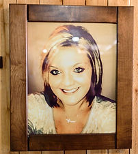 American Concealed Hidden Picture Frame