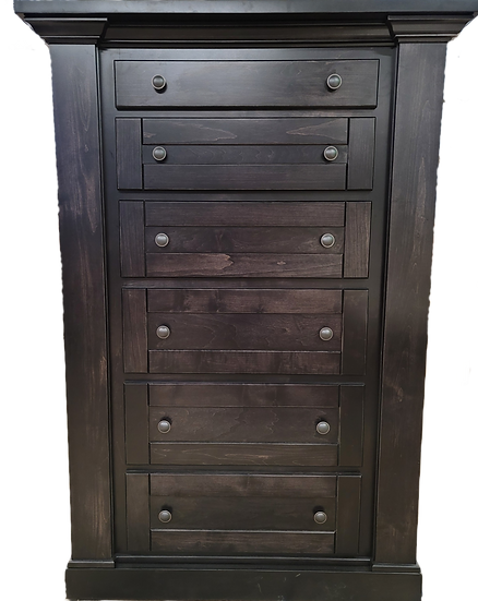 American Concealed Hidden Gun Chest of Drawers